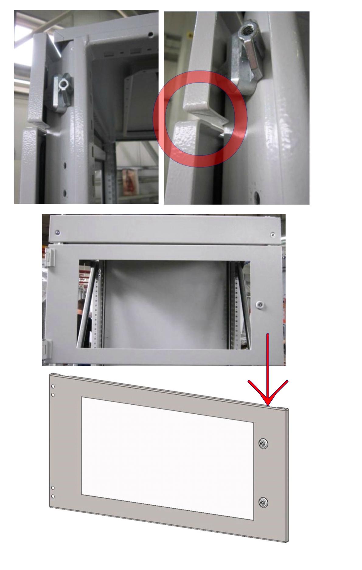 Проблема с недостаточным поджатием секционной двери решена!
