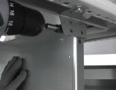 Монтажная панель для напольных шкафов