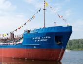 Первое судно, построенное в Самаре за 120 лет!